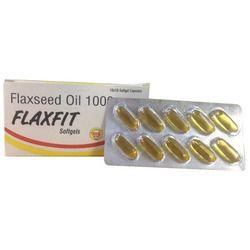 Flaxseed Oil Softgel Capsule