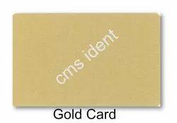 Metallic Gold/Silver PVC card, Magnetic Strip, Size: 86x54mm