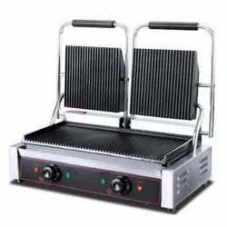 CHEFRANGE Ss Double Sandwich Griller