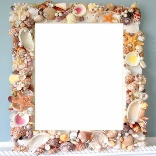 Natural Shell Picture Frame