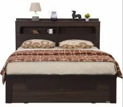Wooden Queen Bed PKBS 019