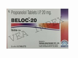 BELOC 20 Mg Propranolol Tablets