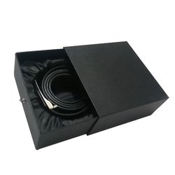 Black Belt Paper Packing Box