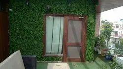 Indoor Artificial Green Wall Grass
