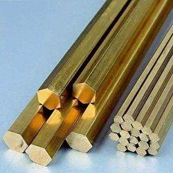 Phosphorus Bronze Hex Bar