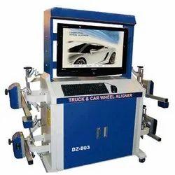 Unimeck Truck Wheel Alignment Machine, Model Name/Number: DZ-803