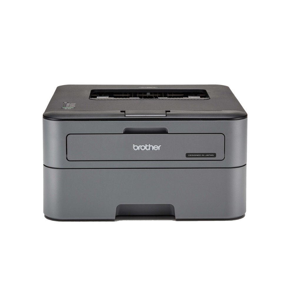 Brother HL-L2321D Black & White Laserjet Single-Function Printer, Upt...