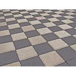 Grey Cement Paver Block, For Pavement, Thickness: 3 Inches
