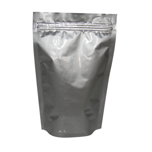 Silver And Options Available Aluminium Foil Bags