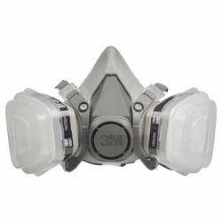 Respiratory 3M Painting Double Mask., Model Number: 6200 Reusable Respirator., Inorganic Gas