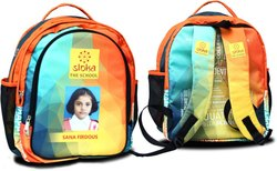 Printed School Kids Bag With Student Picture