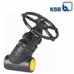 KSB Forged Globe Valves