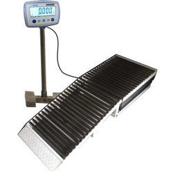 Ramp and Roller Platform scale