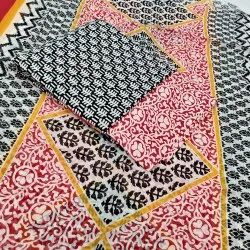 Cotton Chanderi Printed Suit
