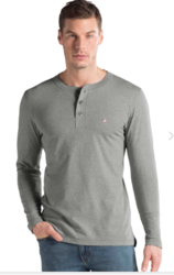 Jockey Grey Melange Long Sleeve T-Shirt