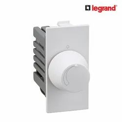 LED Legrand Britzy 400W 1 Module Light Dimmer for Indoor Lighting