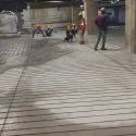 Gray Stamped Concrete Flooring Service