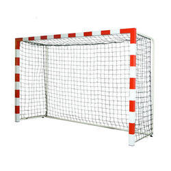 Handball Goal Post METCO 50mm (2) Round Pipe With Back Support