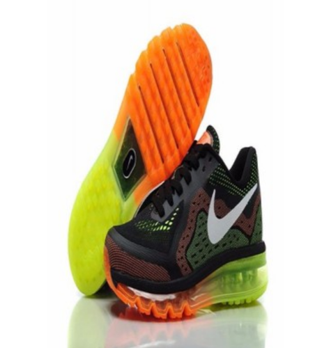 0afa693849 Men Black And Orange Nike Air Max 2014 Sports Shoes, Rs 2999 /pair ...