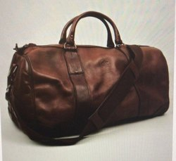 c518818d65 Brown Leather Travel Bag