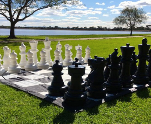 2 Ft Giant Garden Outdoor Chess Sets And Chess Pieces - For Restaurants/Resorts/Hotels/Navy/Army