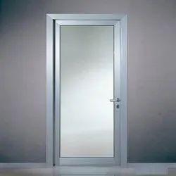 Sandeep Plain Aluminium Glass Door for Office
