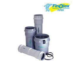 Grey UPVC Finolex Agricultural Pipes, Length: 6 mtr