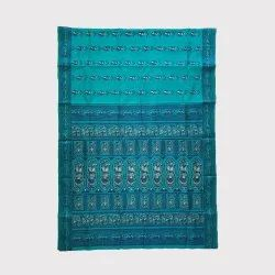 Rama Green Baluchari Saree