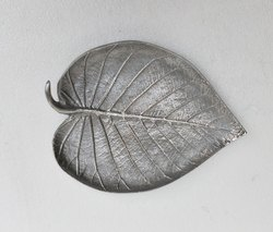 Aluminium Leaf Gift Tray