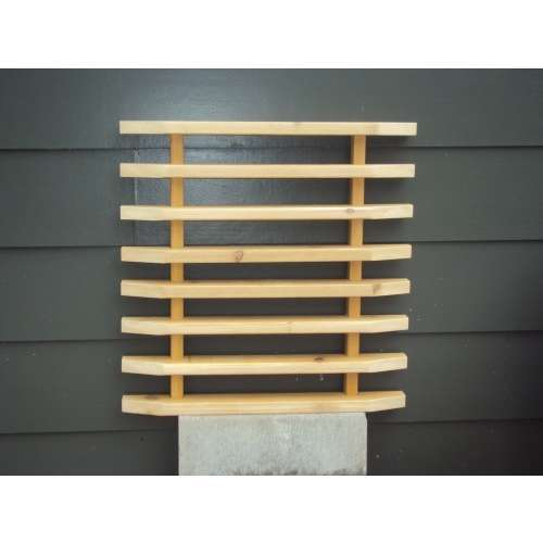 Brown Wooden Modular Wall Panel