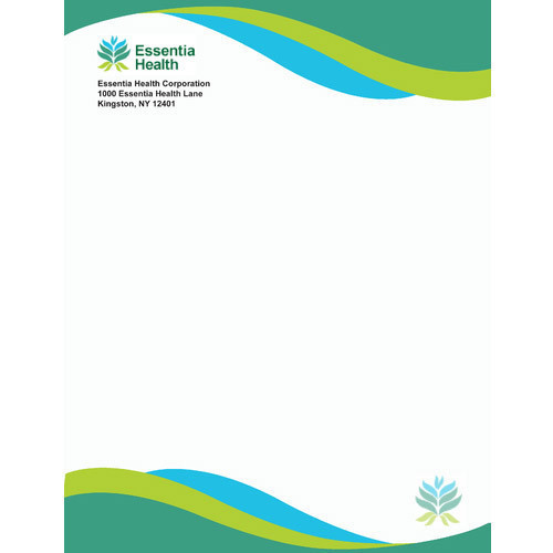 Company Letterhead At Rs  Unit  Letter Head  Id