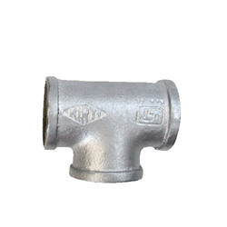 GI Bended Pipe Tee