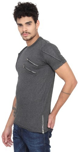 b84e3d033 Cotton Party Wear And Casual Wear Mens Hip Hop Style T-Shirt, Rs 200 ...