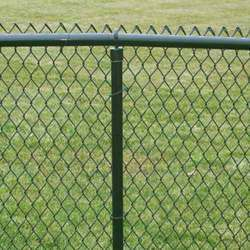 Galvanized Iron, MS and Stainless Steel Wires Chain Link Fence