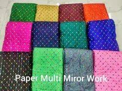 Paper Silk Work Fabric