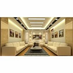 POP False Ceiling Services, Thickness: 16 mm