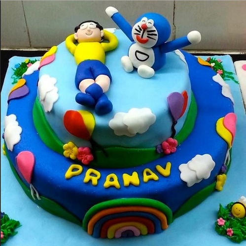 doraemon nobita cake at rs 4800 kilogram थ म क क truffles