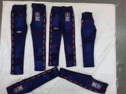 Tuft Multicolor Denim Pants Boys, Age Group: 1-8 Years