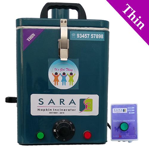 Portable Sanitary Napkin Incinerator