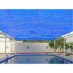 Swimming Pool Roofing Shed at Rs 120 /square feet | स्विमिंग ...
