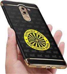 Golden Metal 4157 Aajanta Ashokchakra 24k Gold Plating Mobile Sticker