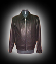Silk Black Leather Men Sheep Joy Jacket 2481