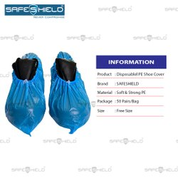 Disposable PE Shoe Covers