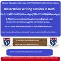 Dissertation Writing Services in Delhi