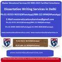 Dissertation Writing Services in Delhi
