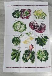 Printed Border Kitchen Towel