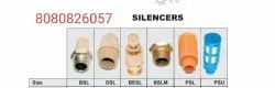 Silencer For Solenoid Valves