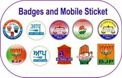 Election Dome Mobile sticker