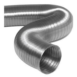 Silver Round Aluminum Ducts, Size: 3 To12 Inches