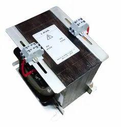 415v 2 Phase Control Panel Transformer, 9 Amp, Rated Capacity: 1 Kva